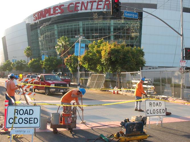 Staples Center Arena - Deco Pave, Inc.